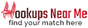 Hookups Near Me Dating Logo